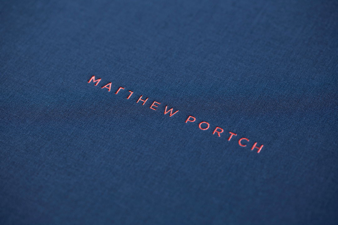 A portfolio that speaks volumes: Matt Portch